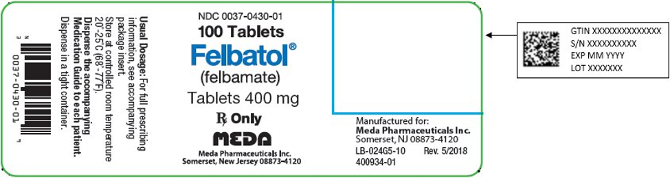 felbatol manufacturing label