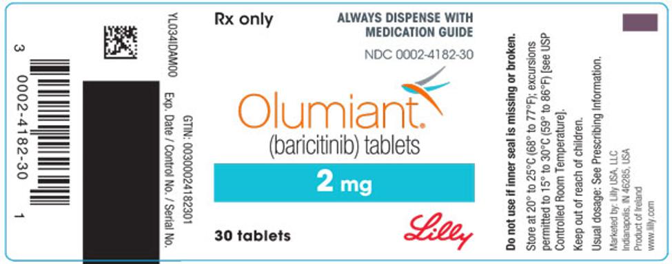 olumiant label