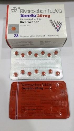 Xarelto blister pack