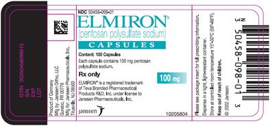 Elmiron packaging