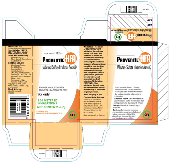 Proventil HFA Packaging